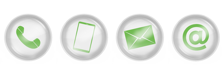 contact us icons design