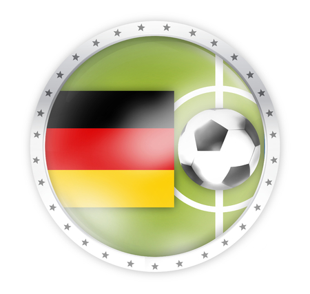 round opacity button icon 3d render isolated on white Stock Photo