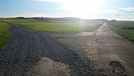 diversion: Diversion rural road background