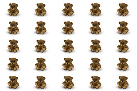 3d render: Cute Teddy Bear 3D Render