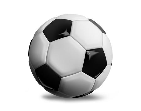 render: 3d render football isolated design