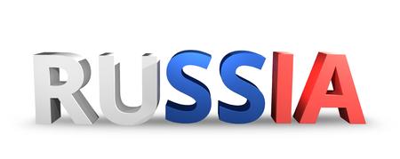 render: Russia realistic 3D render