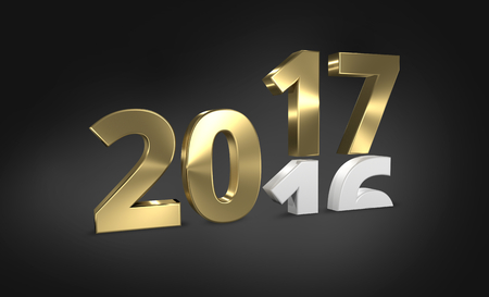 2016 2017 golden 3D render