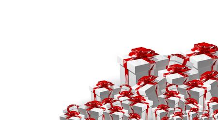 3d render: 3d render gift box Stock Photo