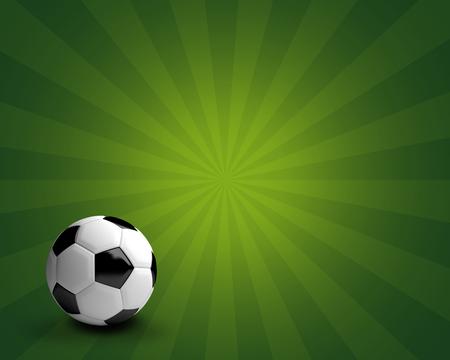 render: soccer football ball 3d render