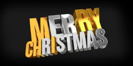 render: merry christmas. christmas 3d render.