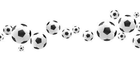 3d ball: ball soccer football 3d render football balls