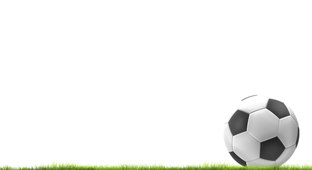 3d render: football soccer 3d render