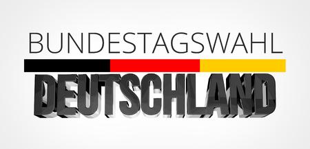 Duitse taal voor Bundestag-verkiezing