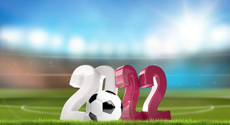 2022 ball football soccer 3d render