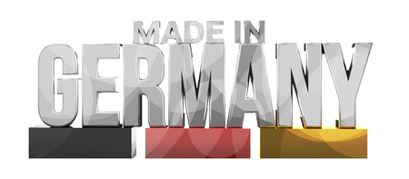 made: made in germany 3d rendering