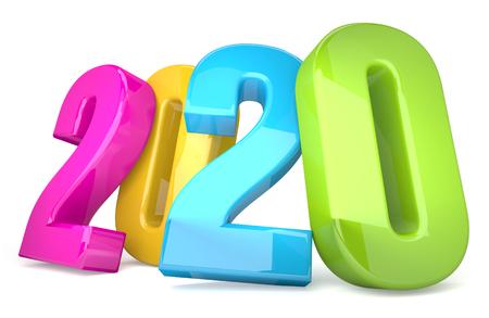 2020 colorful 3D render