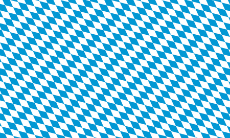 bavaria flag flat illustration Stock Photo