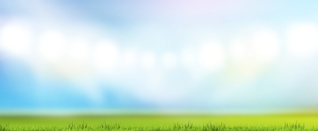 green grass meadow lawn blades of grass blurred background 3d rendering