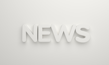 news white bold number 3d rendering Stock Photo