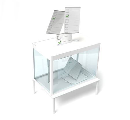 vote 3d rendering