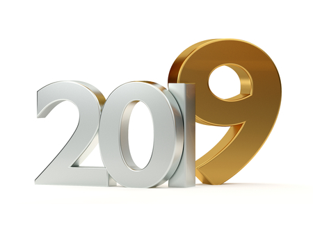 2019 3D Rendering Stock Photo