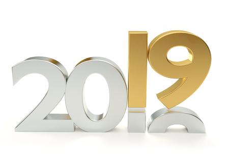 2019 3D Rendering Stockfoto