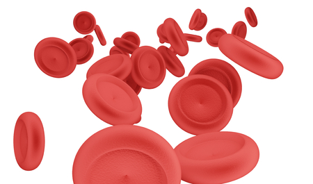 blood cells 3d-illustration Stock Photo
