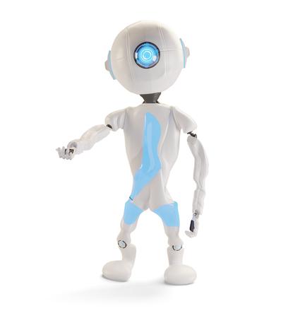 robot 3d-illustration