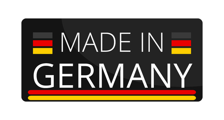 Made in Germany 3d-illustration