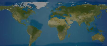 World map dark creative shadow design
