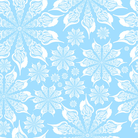 lace: Gentle seamless bright pattern of seashells. Ornament made of shells. Marine pattern, seamless pattern. Sea texture of the shells. Lace shell. Lace pattern.