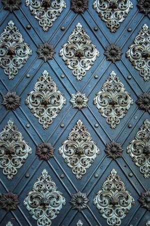 medieval: Fondo antiguo de la vendimia. Rústico patrón puertas antiguas adornos repetitivas medievales.