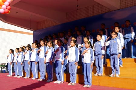 art activity: China s primary school students  Editorial