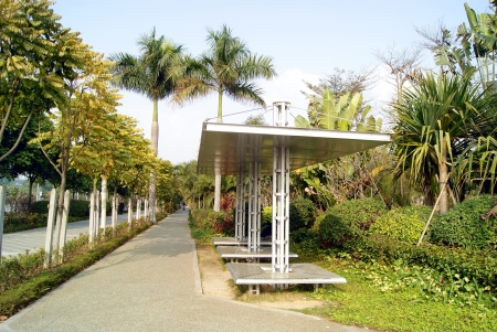 sidewalks: Car pavilion