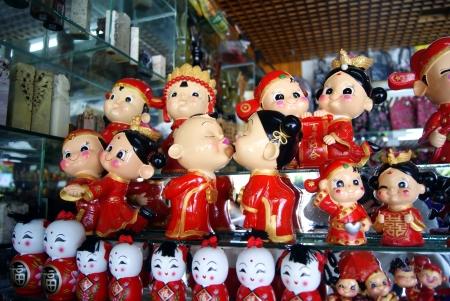folk culture: Splendid China Shenzhen pueblos de cultura popular Foto de archivo