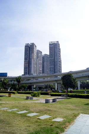 appearance: City buildings and landscape