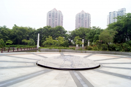 Park landscape in China s shenzhen  photo