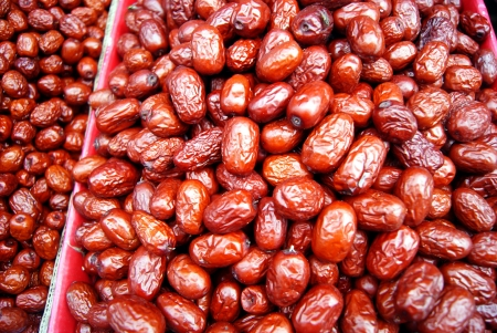 jujube: Red jujube  Stock Photo