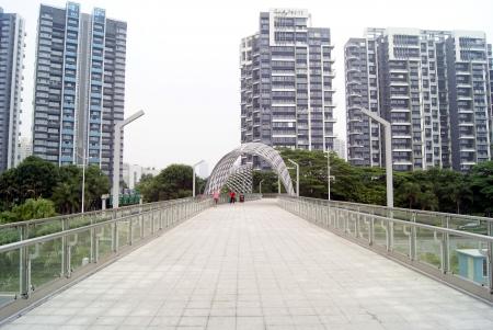 overpass: Pedestrian overpass