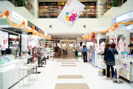 Les grands magasins, la Chine s Shenzhen