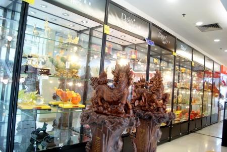 Handicraft sales counter