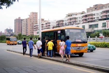 The urban traffic in China, shenzhen  Editorial