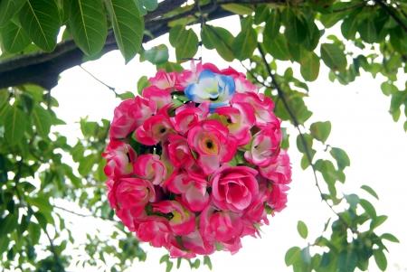 weave ball: ball-flower  Stock Photo