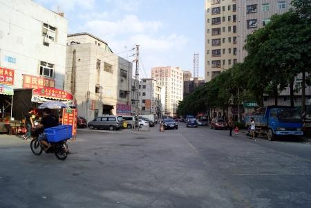Les supermarch�s et les achats sur le march�, la Chine s shenzhen