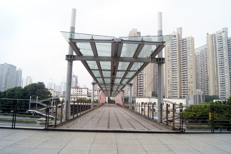 pedestrian bridges: Pedestrian Bridges and buildings