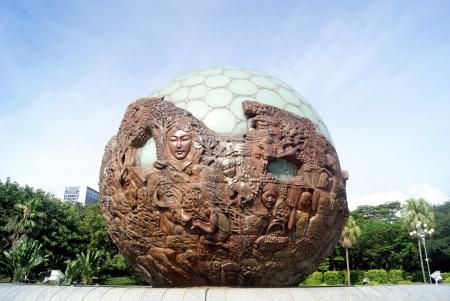sphere: Sphere statue