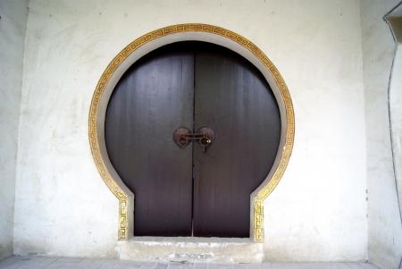 puertas antiguas: Las puertas viejas, en China