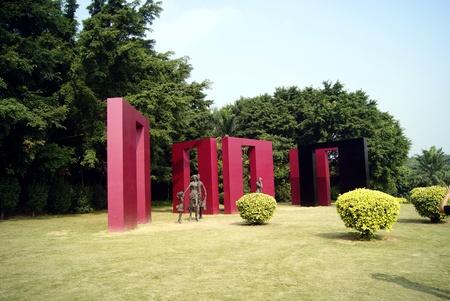 sculptures: Sculptures in the park