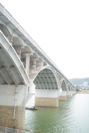hunan: Hunan xiangjiang bridge in changsha, china