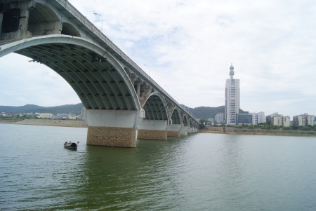 Hunan xiangjiang bridge in changsha, china