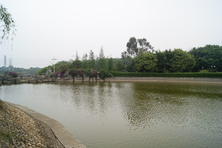 guangdong: Landscape lakes