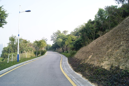 rural area: Road in a rural area