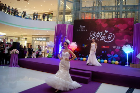 France jewelry promotion in Chinese Shenzhen