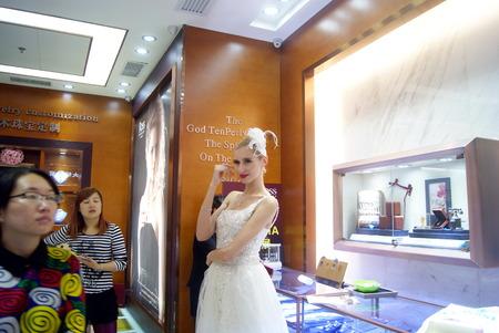 France promotion de bijoux � Shenzhen chinoise